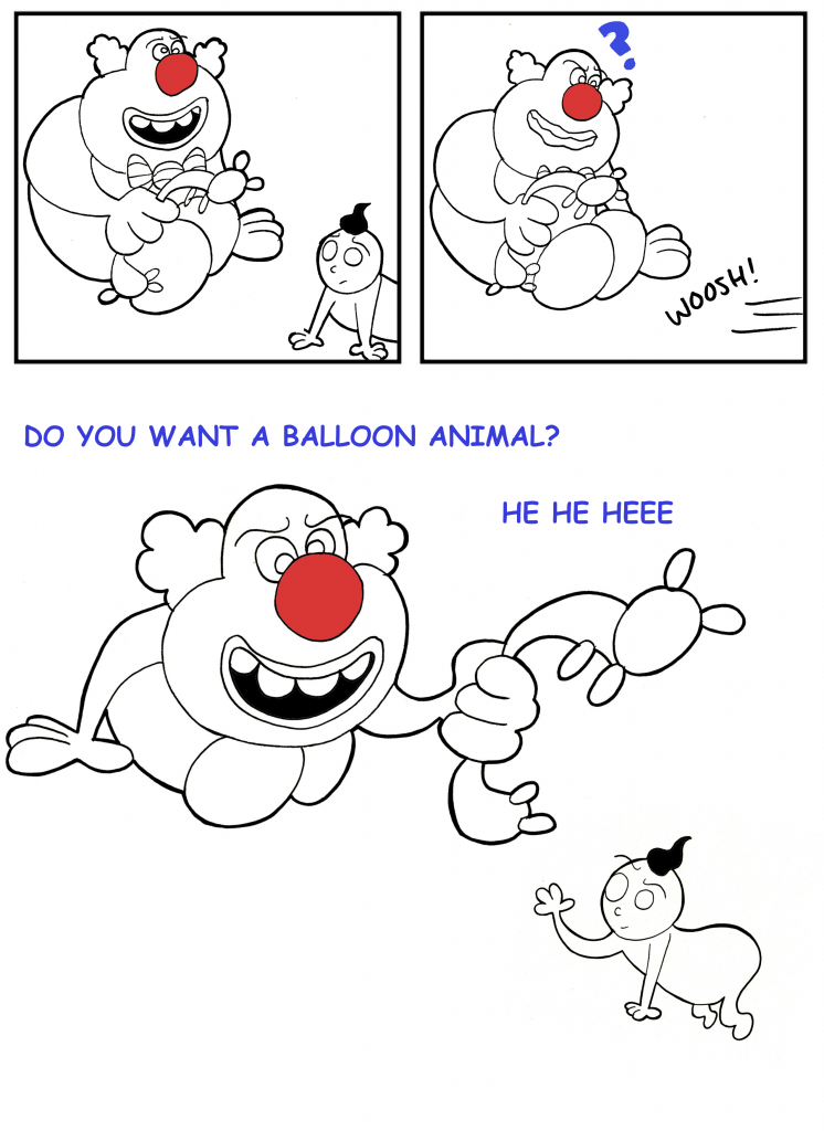Scary Clown - page 4